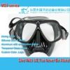Wholesale scuba equipment diving set,black silicone diving mask or spearfish