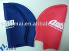 New Slicone swimming cap for adults with logo