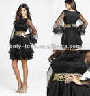 2012 new arrival short Long sleeve Graduation Dresses OLC083