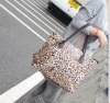 New Arrival Fashionable Leopard Zipper Handbag Coffee GX12092509