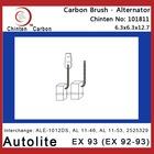 Autolite EX 93 (EX 92-93) electric carbon brush