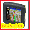 Waterproof GPS 3.5 inch LCD touch screen Navigation
