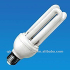 U-shaped CFL Bulb with 15W Power and 800lm Luminous Flux, 120V 220 to 240V Voltage