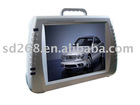 12.5 inch cheap portable dvd player with USB