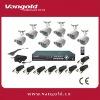 8 Cameras H.264 Compression DIY CCTV DVR Kit