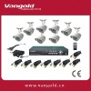 8 Cameras H.264 Compression DIY CCTV DVR Kit