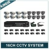 16CH Electronic Security Systems With Sony Chip