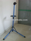 blue anodized bike repair stand
