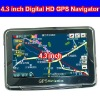 4.3 inch GPS with Bluetooth and AV-IN