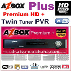 AZBOX hd Premium plus receiver azbox premium HD + receiver satellite hd receiver dual receiver