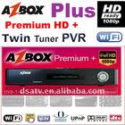 AZBOX hd Premium plus receiver azbox premium HD + receiver satellite hd receiver dual receiver