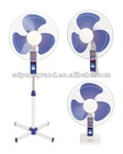 "Good Quality Plastic cross base 16""stand fan (PGSF16-A 3 IN 1)"