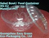 Hotttest! PET Food Bowl With Dome Lid HS-02