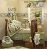 luxury embossing animals baby crib bedding set