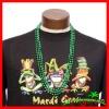 St. Patrick's Day 7mm Beads Metallic Green