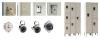 Locker lock and handle