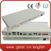 PCM multiplexer telecom equipment with 4E1 and 30 ch telephone