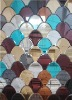 mushroom mirror (mixing colors)