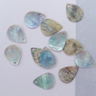 15*12 water drop shape Japan agoya shell pendant