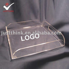 customized acrylic restaurant service tray FZ-A-1101