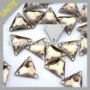 UNITE High Quality Triangle Sew-on Crystal Beads 16mm U3270