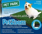 Plastic Pet Potty / Pet mat / Pet Park / Pet Zoom / Dog/Pet Potty with Synthetic Grass