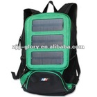 Solar laptop charger bag for hiking & camping