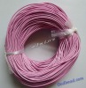 7jewelry cords 1mm/2mm/ 3mm/4mm/5mm/ smooth round jewelry cords geunine leather cords