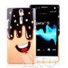 Smartphone tpu skin for sony lt26i case