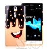 Smartphone tpu skin for sony lt26i case
