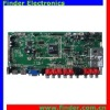 Multipurpose LCD MainBoard can support HDMI, AV, PC-RGB, DVD (Option), USB, YPbPr, TV Signal input.