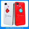 hard plastic lovers couple case for iphone