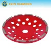 Diamond tool for cup wheel-single row