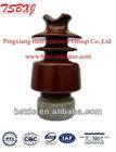 High voltage transmission line post insulator