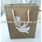 2012 New Design Linen material Shopping Bag