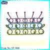Colored Plastic Wire Hook Coat&Hat Hanger