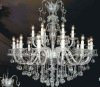new style big size K9 clear chandelier crystal