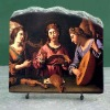 religious craft of stone painting