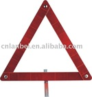 Reflective warning board with PMMA&ABS material
