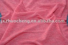 rayon silk blended yarn knitted fabric