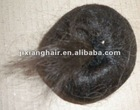 100%human hair or synthetic hair chignon hair accessories