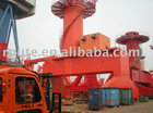 steel structure harbor machinery portal crane