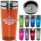bpa free 16oz colored stainless steel Acrylic Tumbler with silkscreen imprint logo