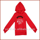 Autum Hot Sale Fashionable Cotton Children Plain Hoodies