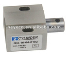 Single acting air cylinder for printing machine and electric eyelet buttonhole sewing machine