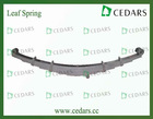 Medium-Sized/Heavy Leaf Spring