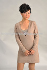 ladies two set cashmere dress