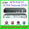 4CH Digital Video Recorder Real-time Recording H.264 Network DVR