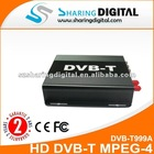 Sharing Digital High Quality Car Freeview Mobile Digital MPEG-4 DVB-T Receiver with PVR
