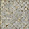 natural seaside shell mosaic